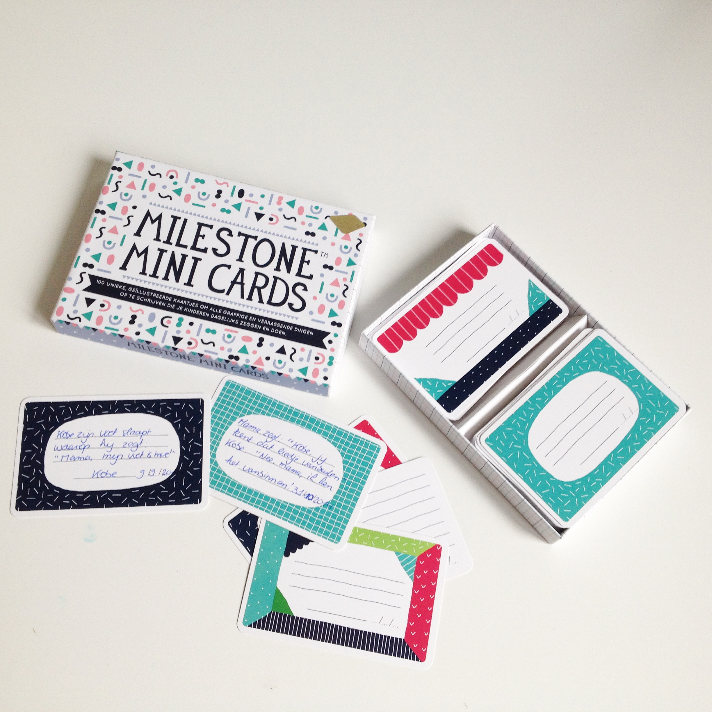 Milestone Mini Cards
