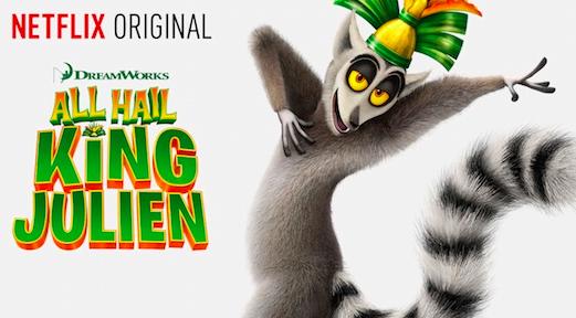 King Julien Netflix