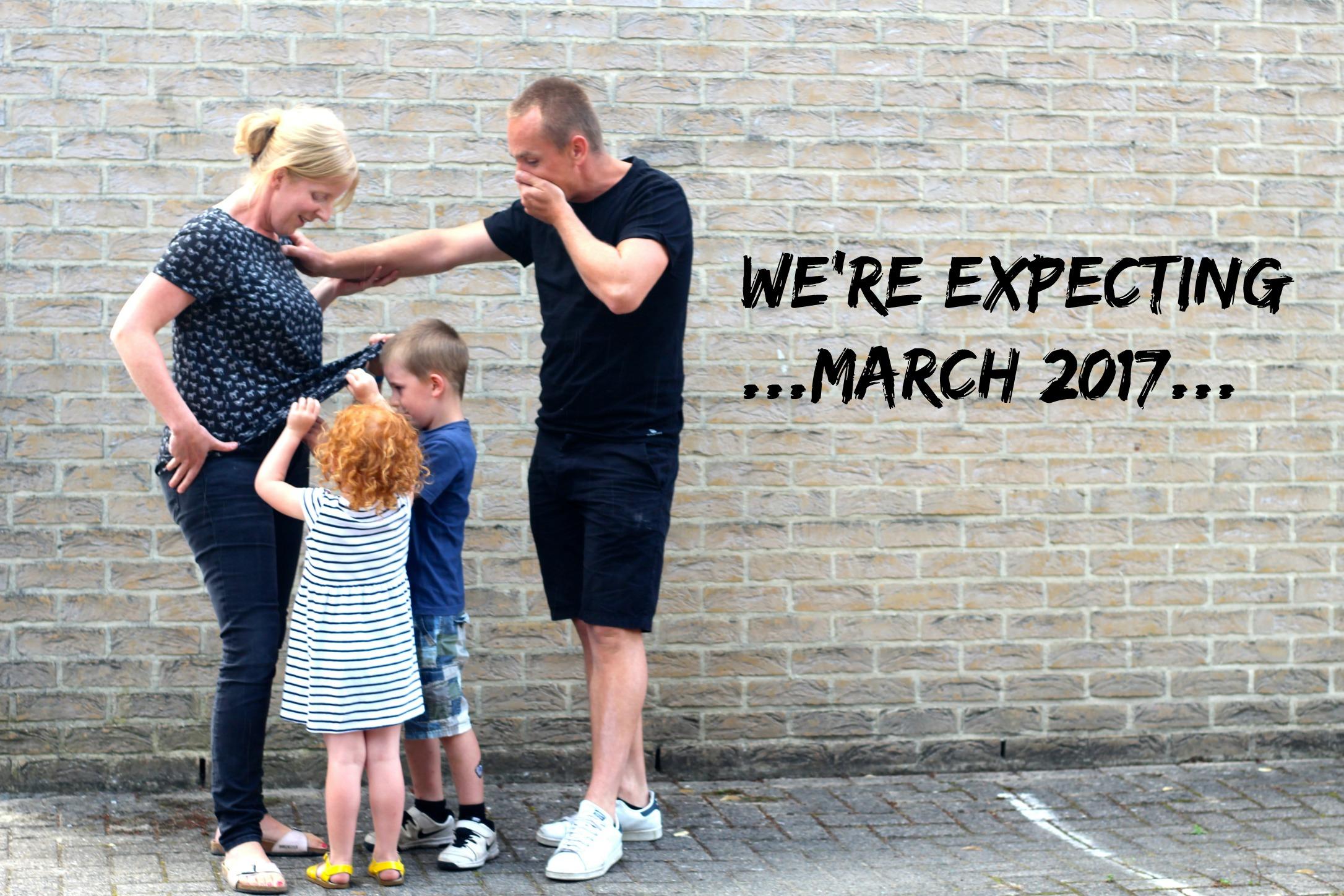 aankondiging zwangerschap