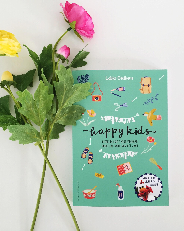 HAPPY KIDS boek lobke gielkens
